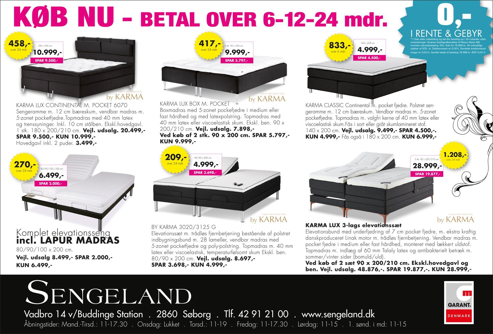 senge madrasser Tilbud på senge og madrasser   mød Sengelands specialister senge madrasser