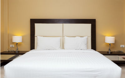 Bredte på sengen