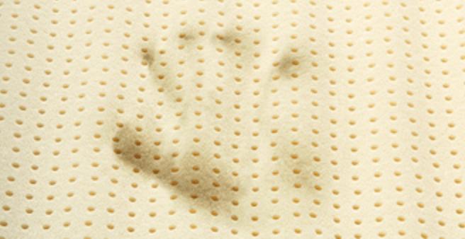 Talalay Latex - åndbart celler ventilerende